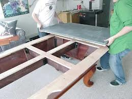 Pool table moves in Erie Pennsylvania