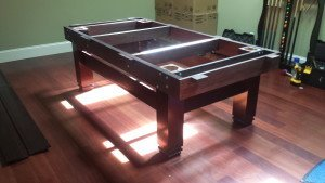 Correctly performing pool table installations, Erie Pennsylvania